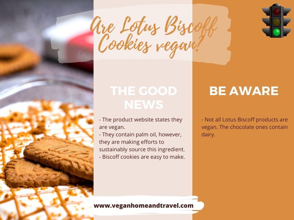 Are Lotus Biscoff Cookies Vegan